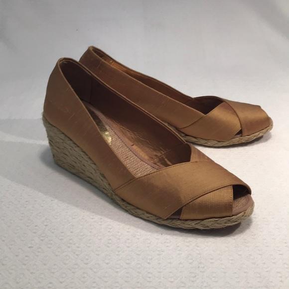 """Lauren Ralph Lauren Shoes - Ralph Lauren """"Cecilia"""" espadrille wedges 10B"""